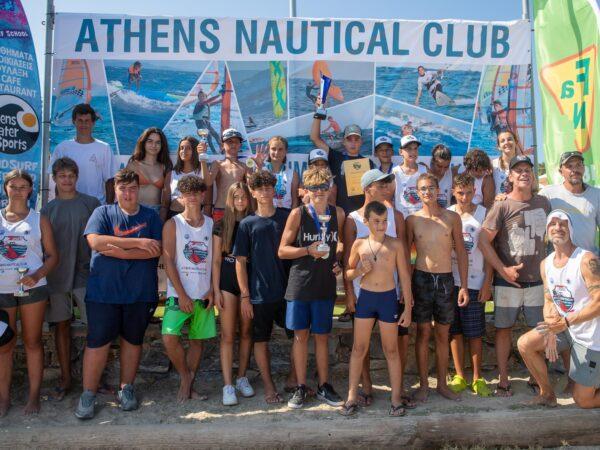 5 Αθλητές μας στην Εθνική Ομάδα Ιστιοσανίδας Νέων της E.I.O.