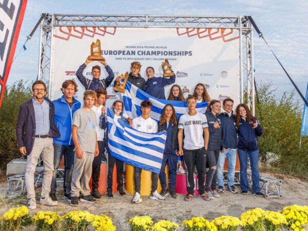 Μεγάλες επιτυχίες για την Ομάδα Windsurfing του Α.Ο.Θ.Α. στο Πανευρωπαϊκό Πρωτάθλημα Τ293 στην Εσθονία